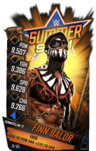 SuperCard FinnBalor S3 15 SummerSlam17