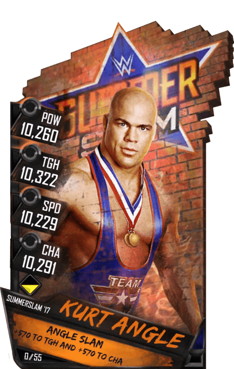 SuperCard KurtAngle S3 15 SummerSlam17 RingDom