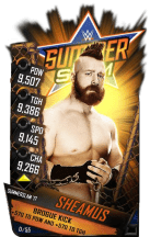 SuperCard Sheamus S3 15 SummerSlam17