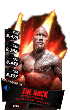 SuperCard TheRock S3 14 WrestleMania33 RingDom