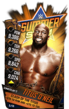SuperCard TitusONeil S3 15 SummerSlam17