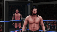 WWE 2K18 New Elimination Chamber Orton Rollins