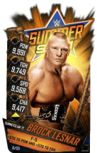 SuperCard BrockLesnar S3 15 SummerSlam17