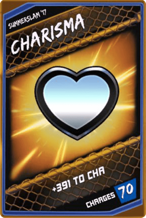 SuperCard Enhancement Charisma S3 15 SummerSlam17
