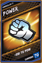 SuperCard Enhancement Power S3 15 SummerSlam17