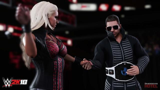 WWE2K18 Maryse TheMiz