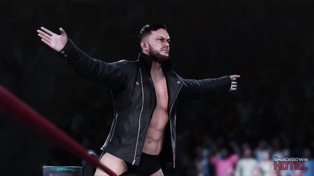 WWE2K18 FinnBalor Entrance