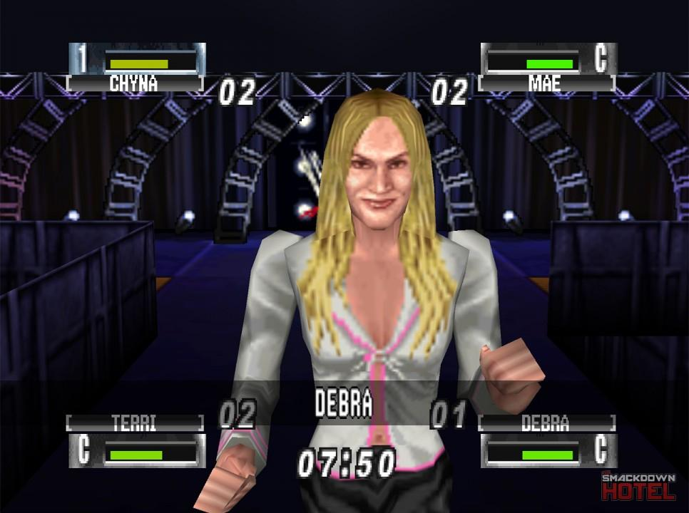 Debra - WWF No Mercy - Roster