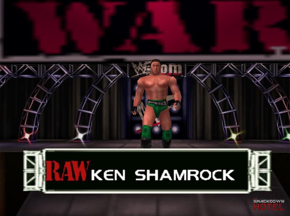 Ken Shamrock - WWF No Mercy - Roster