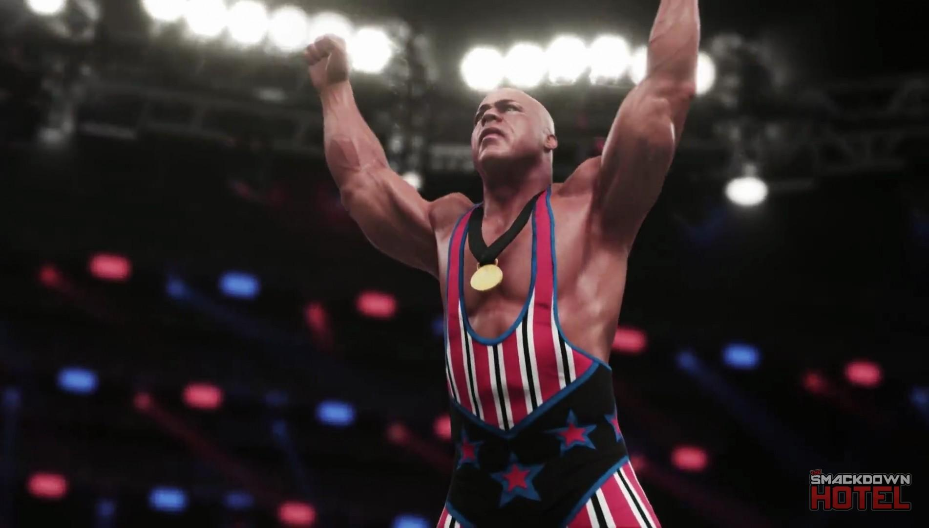 WWE2K18 Trailer KurtAngle 2