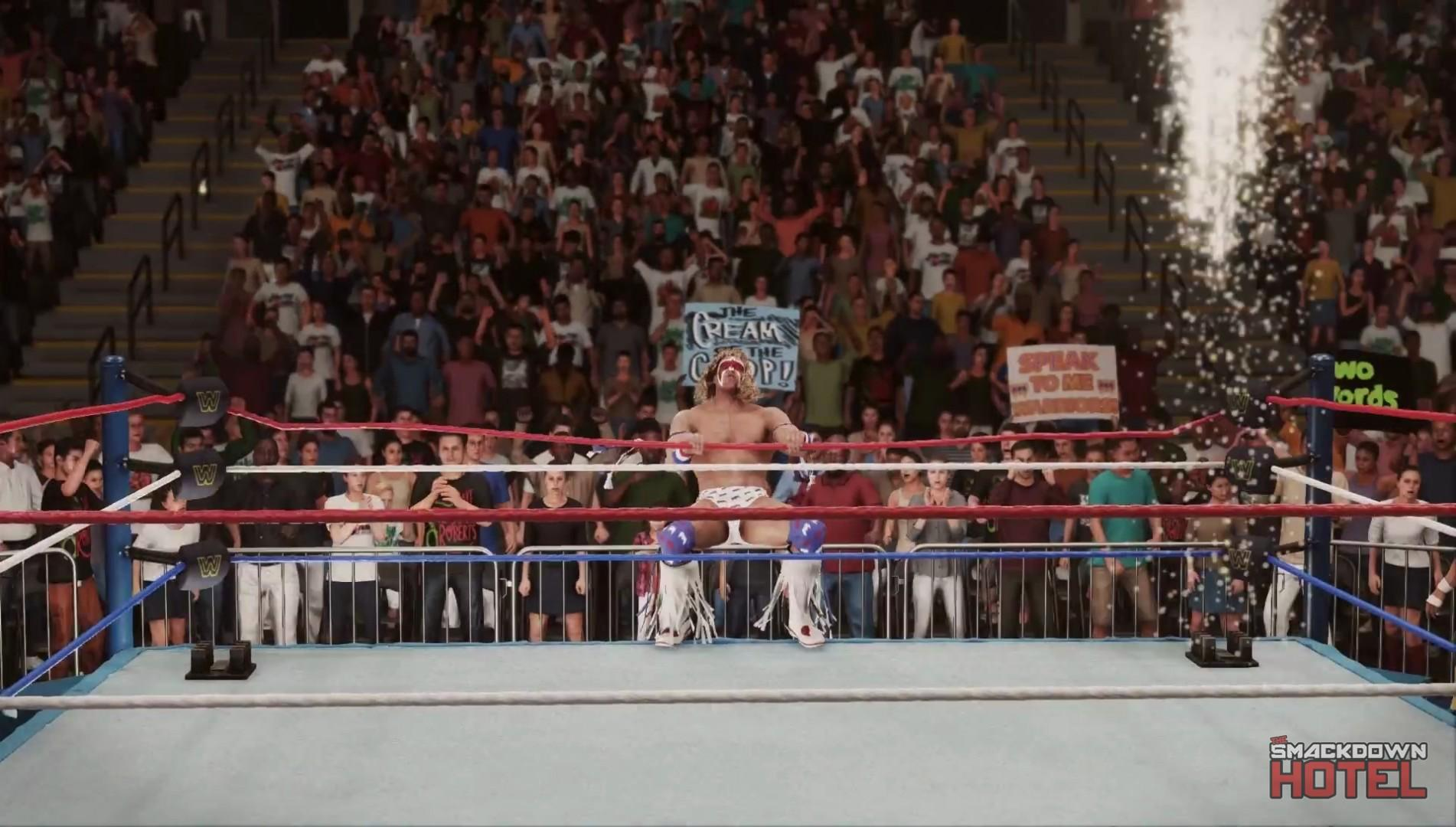 WWE2K18 Trailer UltimateWarrior