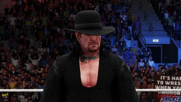 WWE2K18 Trailer Undertaker 2