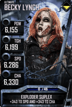 SuperCard BeckyLynch S3 13 Ultimate Zombie