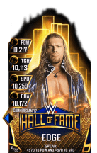 SuperCard Edge S3 15 SummerSlam17 HallOfFame