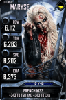 SuperCard Maryse S3 13 Ultimate Zombie