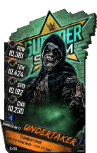 SuperCard Undertaker S3 15 SummerSlam17 RingDom Zombie