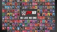 WWE2K18 ROSTER POSTER