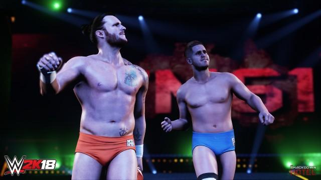 WWE2K18 TM61 ShaneThorne NickMiller