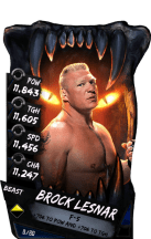 SuperCard BrockLesnar S4 16 Beast