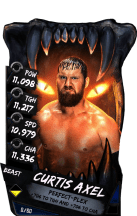 SuperCard CurtisAxel S4 16 Beast