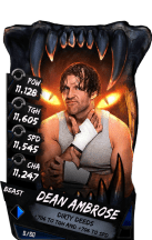 SuperCard DeanAmbrose S4 16 Beast