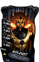 SuperCard Goldust S4 16 Beast