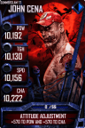 SuperCard JohnCena S3 15 SummerSlam17 Zombie