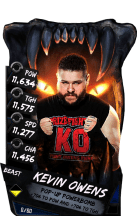 SuperCard KevinOwens S4 16 Beast