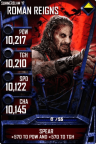SuperCard RomanReigns S3 15 SummerSlam17 Zombie