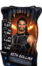 SuperCard SethRollins S4 16 Beast
