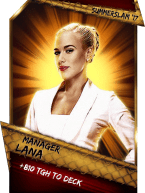 SuperCard Support Lana Manager S3 15 SummerSlam17