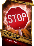 SuperCard Support StopSign S3 15 SummerSlam17