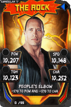 SuperCard TheRock S3 15 SummerSlam17 Throwback