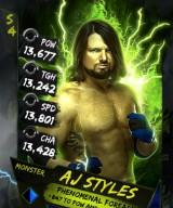 Supercard S4 AJStyles Monster