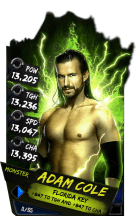 SuperCard AdamCole S4 17 Monster