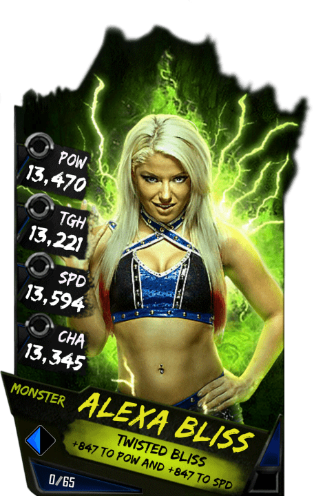 SuperCard AlexaBliss S4 17 Monster