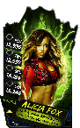 SuperCard AliciaFox S4 17 Monster