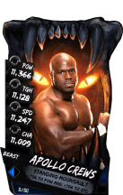 SuperCard ApolloCrews S4 16 Beast