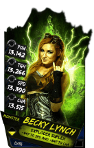 SuperCard BeckyLynch S4 17 Monster