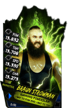 SuperCard BraunStrowman S4 17 Monster