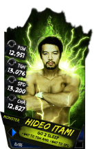 SuperCard HideoItami S4 17 Monster