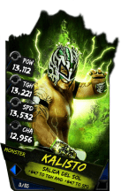 SuperCard Kalisto S4 17 Monster