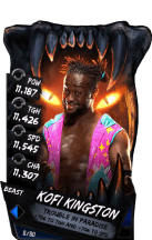 SuperCard KofiKingston S4 16 Beast
