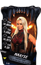 SuperCard Maryse S4 16 Beast