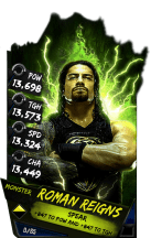 SuperCard RomanReigns S4 17 Monster