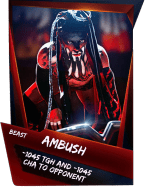 SuperCard Support Ambush S4 16 Beast
