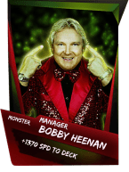 SuperCard Support BobbyHeenan S4 17 Monster