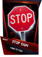 SuperCard Support StopSign S4 16 Beast