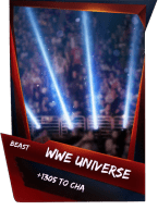 SuperCard Support WWEUniverse S4 16 Beast