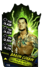 SuperCard BaronCorbin S4 17 Monster